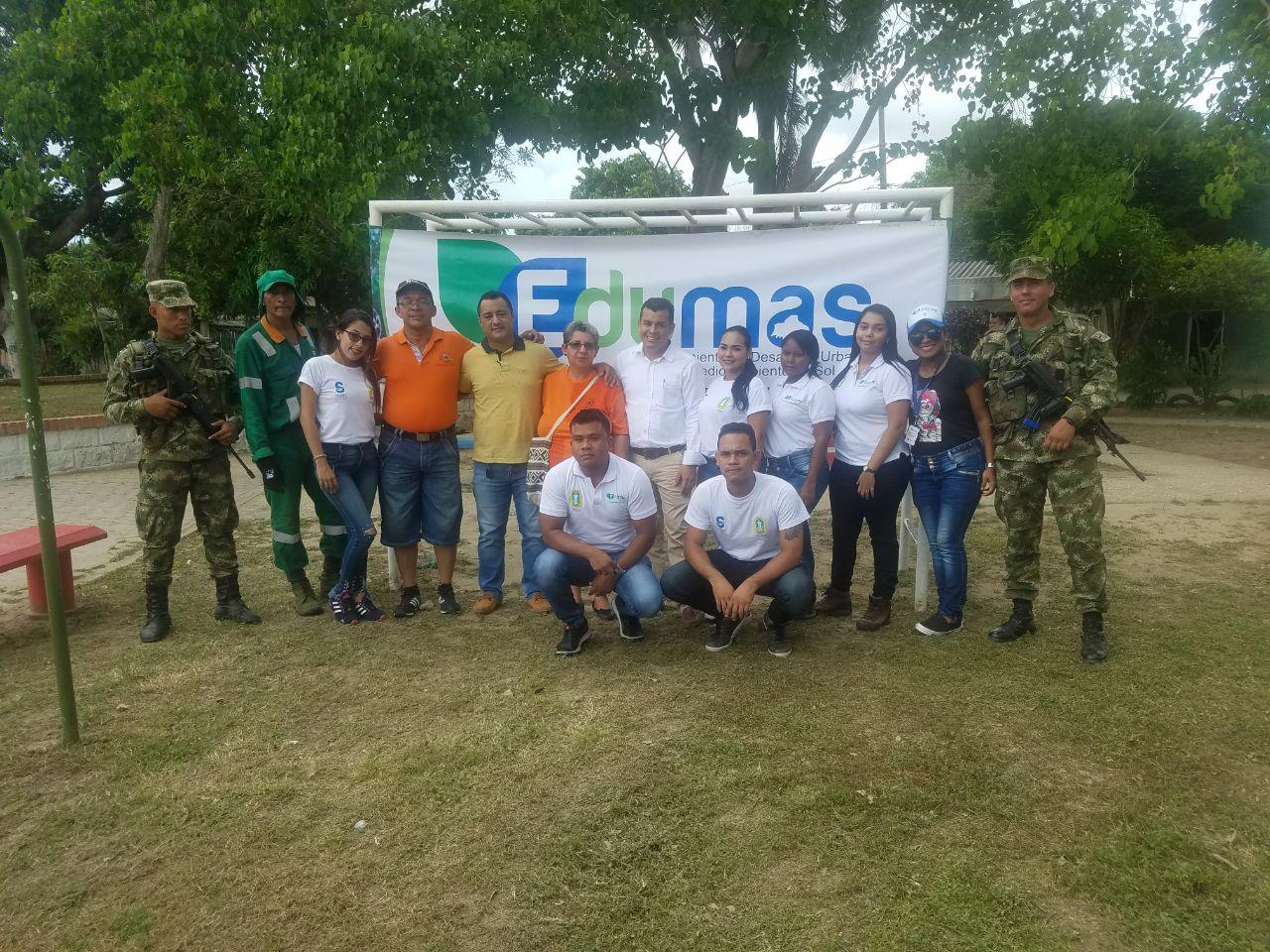 Jornada De Socialización Y Sensibilización De Residuos Sólidos En El Barrio La María