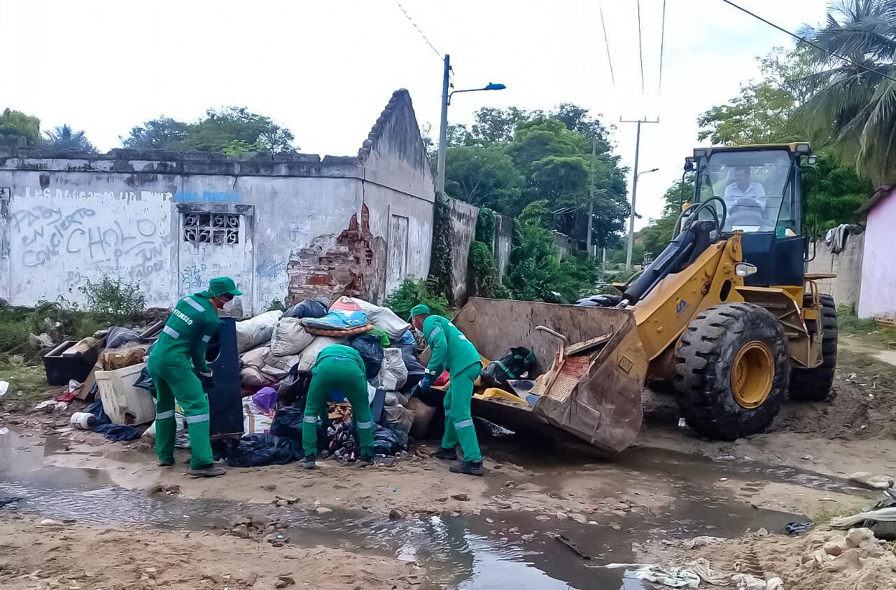 55 Toneladas De Residuos Han Sido Recolectadas Tras Emergencia Invernal De Soledad