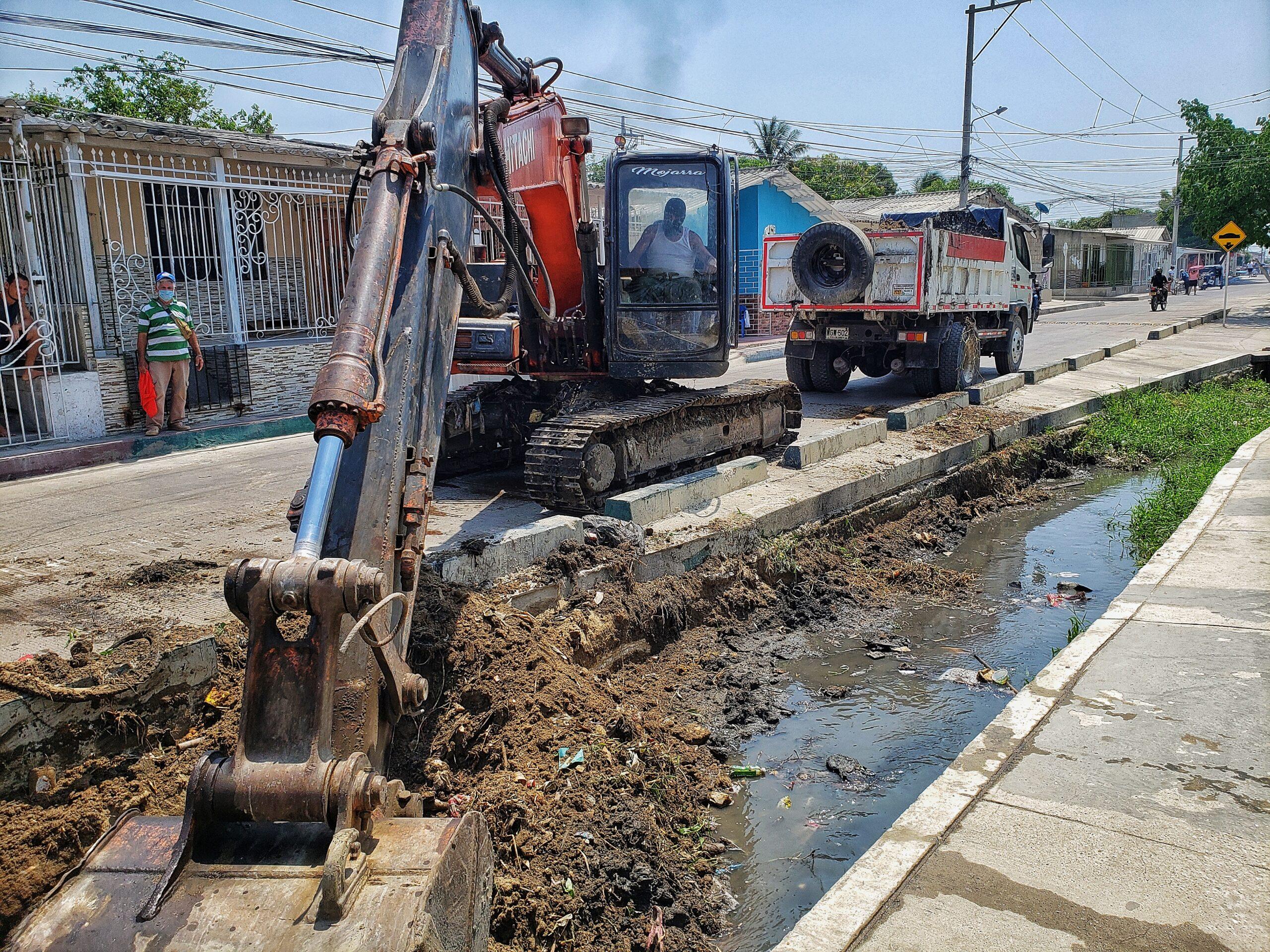 Más De Mil Metros Lineales De Arroyo Ha Intervenido El Edumas En Los Que Va Corrido Del Año