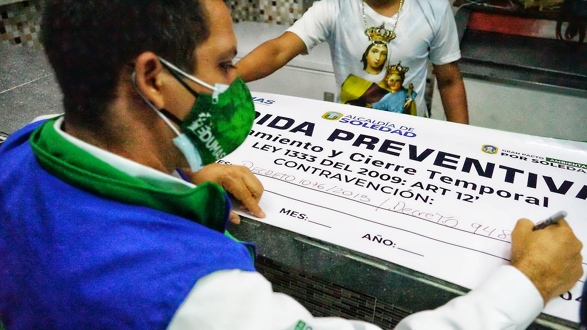 Edumas Realiza Operativos De Control De Ruido Y Contaminación Sonora En El Barrio El Manantial