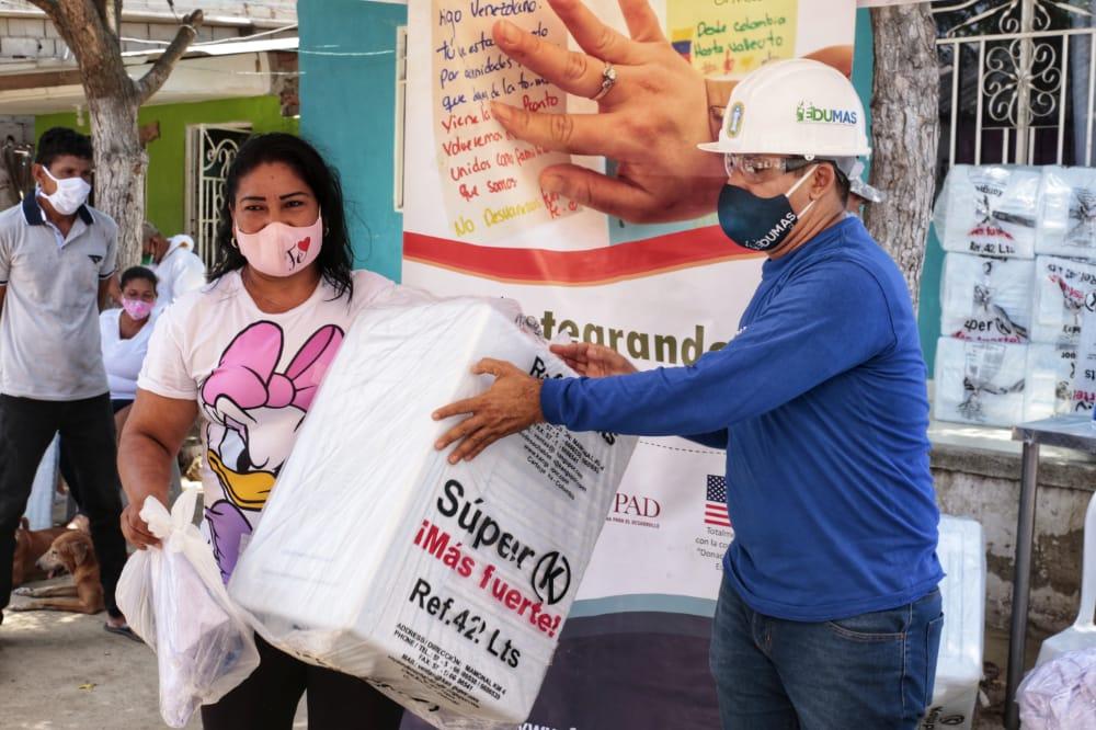 De La Mano Del Edumas Y La Fundación FUPAD, Mercado De Soledad Y Pescadores Fueron Beneficiados Con Limpieza Y Herramientas De Trabajo