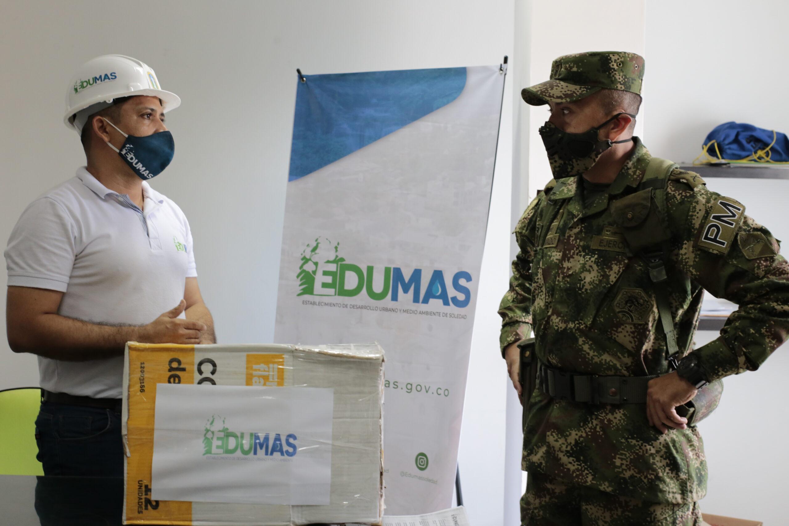 Edumas Fortalece Alianza Para Trabajo Conjunto Con La Policía Militar