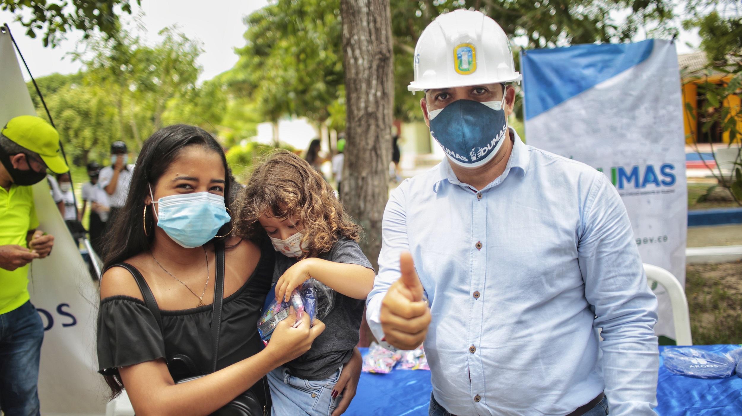 Parque De Los Cumpleaños De Soledad Celebra Su Restauración: Comunidad, Argos Y El Edumas Gestores De La Obra