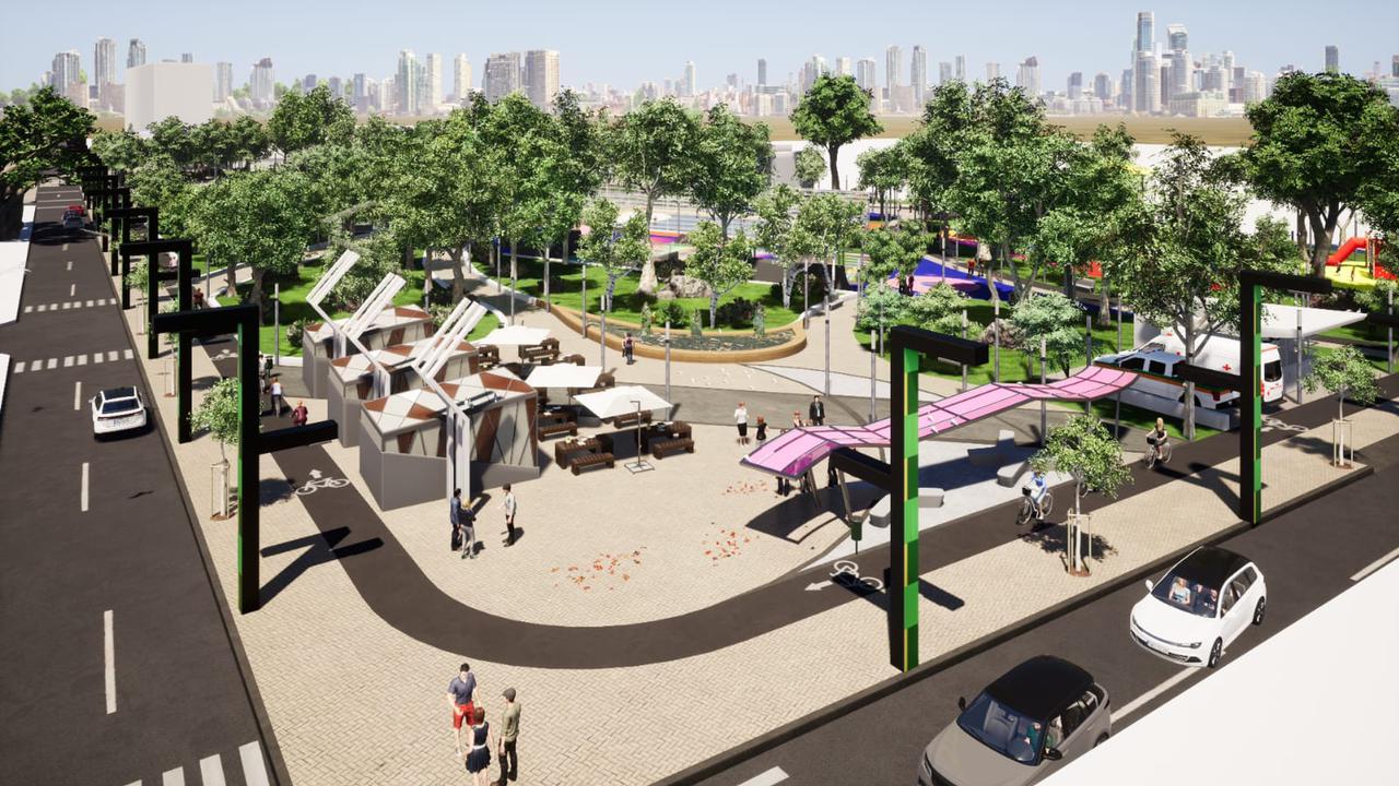 En Villa Estadio: Futuro Ecoparque Lago De Soledad Contará Con Mil 200 Metros De Calles Pavimentadas